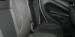 zwart schoon auto interieur