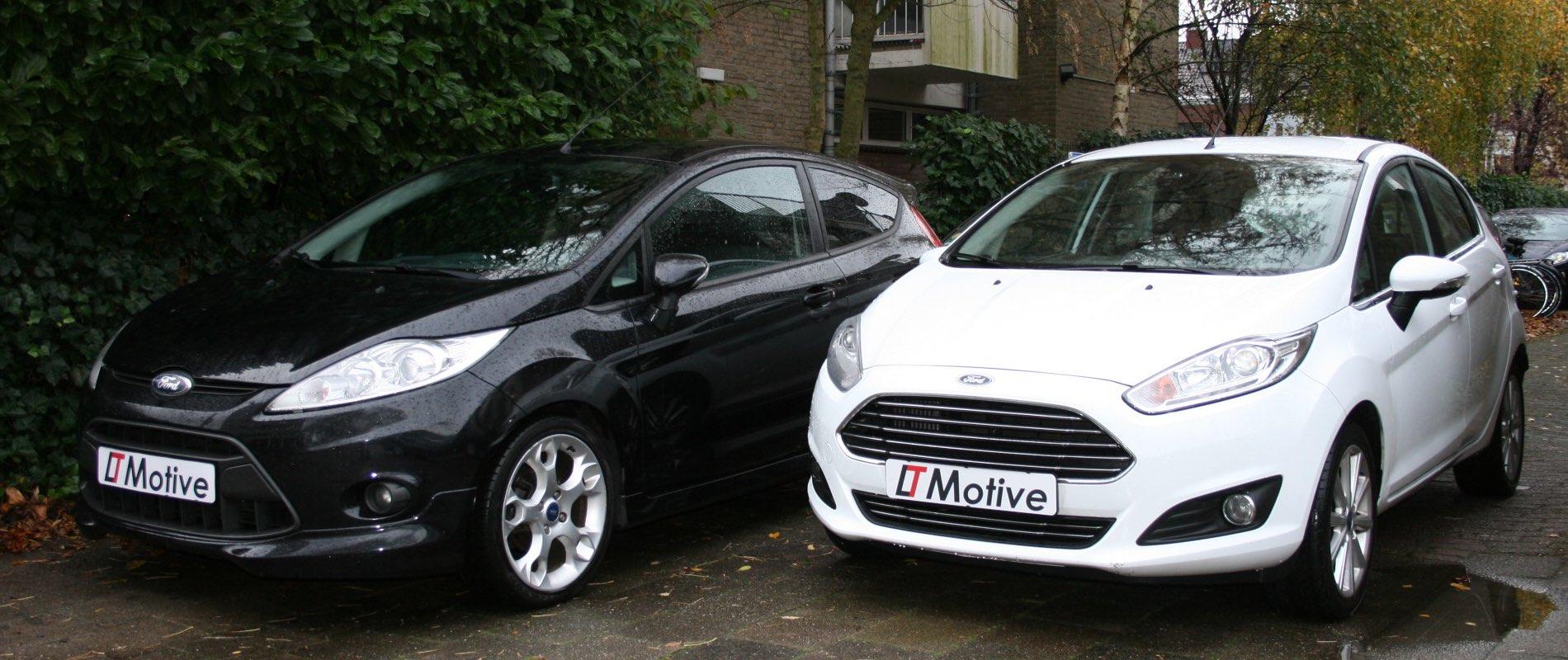 LT Motive auto ford zwart/wit